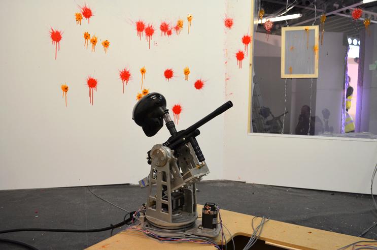 paintball machine gun turret - photo #3