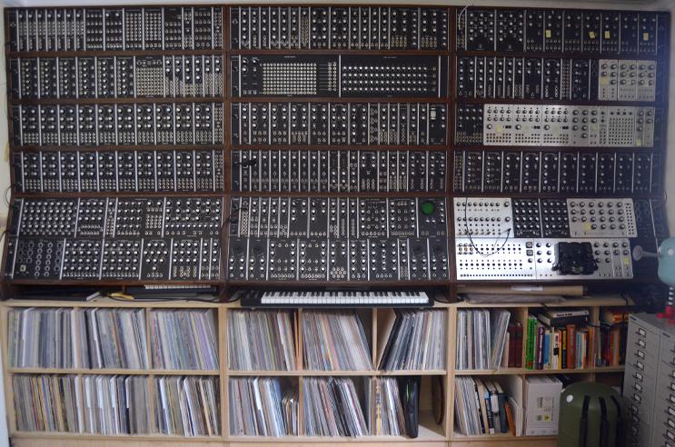 Homemade modular synthesiser / synthesizer