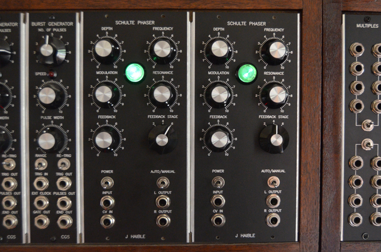 Homemade modular synthesiser / synthesizer